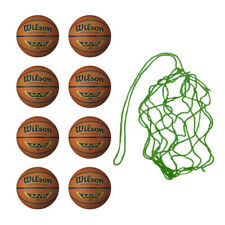 NEW Wilson 10 MVP Training Basketballs in mesh ball sack - Cheap Bargain Sky Tan
