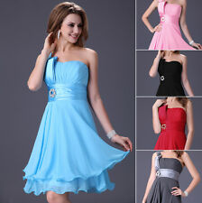❤XMAS GIFT❤ Short Formal Bridesmaid Party Gown Prom Evening CHEAP Cocktail Dress