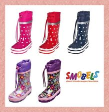 Kids Wellies Girls Wellies Wellys Flowered Rain Rubber Boots Toddler Boots Shoes