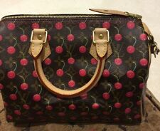 BNWT AUTHENTIC LOUIS VUITTON LIMITED EDITION MIRAGE SPEEDY CHERRY BAG HANDBAG 25