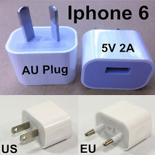5V 2A EU US Plug USB Power AC Wall Charger Adapter For iPhone 6 6G Smart Phone
