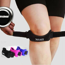 Adjustable Sports Gym Patella Tendon Knee Support Brace Velcro Strap Protector