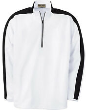 North End Men's Half-Zip Double Knit Top Pullover 88104