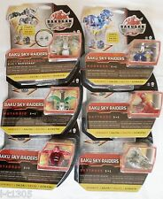 Bakugan Gundalian Invaders Baku Sky Raiders 3-1 Sealed Pack Ability + Metal Gate