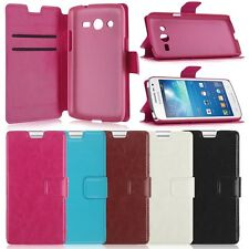 Luxury Stand Flip Wallet Folio Leather Card Cover Case For Various Smart Phones