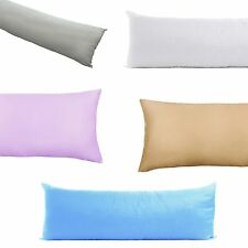 "200TC Poly Cotton Body Pillowcase Cover Protector Ultra Soft Easy Care 21""x54"""