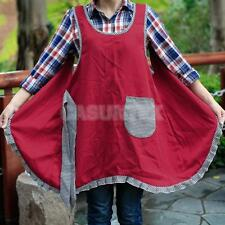 Cute Pattern Apron with Pocket for Chefs Butchers Kitchen Cooking Craft Baking