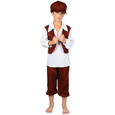 OLIVER TWIST VICTORIAN CHIMNEY SWEEP KIDS CHILDS STORYBOOK FANCY DRESS COSTUME