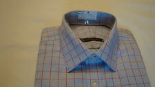 Shirt -Mens Pure Cotton Check - Performance .m/f for Marks and Spencer