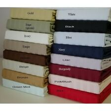 Pure 100% Cotton Bedding Collection All Size 6 Stripe Color Free Shipping