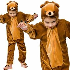 Kids Animal Teddy Bear Childrens Book Week One Piece Fancy Dress Costume Outfit