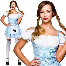ADULT LADIES WIZARD OF OZ SEXY DOROTHY FANCY DRESS COSTUME STORYBOOK NEW