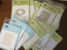 Stampin' Up! Sizzix Embossing Folders NEW Your Choice