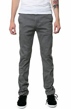 Karmaloop Altamont The Davis Slim Chinos Dark Gray