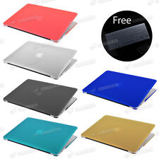 Frosted Matte Rubberized Hardshell Hard Case Cover For Apple MacBook Air Pro