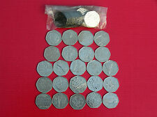 WIDE SELECTION OF CIRCULATED 50P (FIFTY PENCE) COINS- GREAT BRITISH COIN HUNT