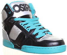 12050 Osiris Skate Shoes Nyc 83 Mens Hi Top Leather Lace Up VelcroTrainers