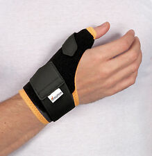 Wrist Brace with long Thumb Support Plate - Strong & Effective Thumb Pain Relief