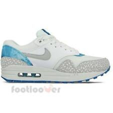 Nike Air Max 1 Print 528898 101 white gray Running Women's Fashion Sneakers