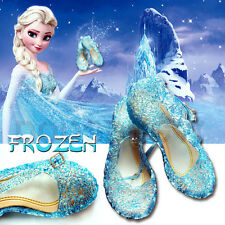SCARPE DI ELSA FROZEN ACCESSORI REGINA DELLE NEVI CARTOON SHOE SHOES SCARPETTE