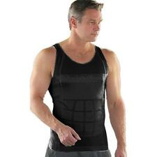 Men Body Slim Tummy Shaper Vest Belly Waist Girdle Shirt Underwear Shapewear G77