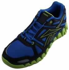 Reebok Zigdynamic Toddler Blue/Black/Green/Silver Running Sneakers