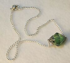 Hand Made Smallville Lana Lang Kryptonite Necklace