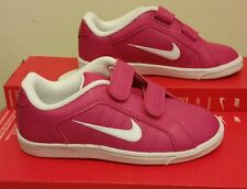 Nike Court Tradition 2 Plus PSV Trainers Girls Kids Pink /White All sizes 10-2.5