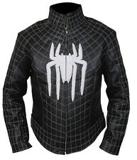 The Amazing Spiderman Jacket with White Padded / Embossed Spider Logo