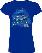 LADIES FITTED DALE EARNHARDT JR #88 NATIONWIDE SHEET METAL NASCAR TEE SHIRT