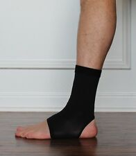 New Black Copper Compression Ankle Sleeve Athletic Brace Fit Free USA Shipping