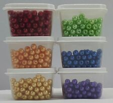60/100 Bead Craft Organizer Storage Sure Fresh Containers Clear Stack Display