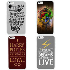 Harry Potter Hogwarts Watercolor Art Quote Hard Case Cover For iphone 6 / 5s