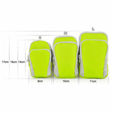 Portable Arm Bag Bike Running Sports Wrist Band Pouch Bag for Mobile Phone Key