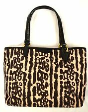 NWT Coach F51819 Signature Ocelot Top Handle Tote MINI Handbag Authentic
