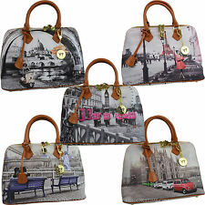 Borsa donna Y NOT ? shopping BUGATTI con manici a spalla SHOPPER BAG 325 LONDON
