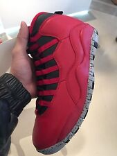 NIKE AIR JORDAN X 10 RETRO BULLS OVER BROADWAY GYM RED 100%AUTHENTIC GS PS TD