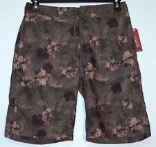 Men's Arizona Surf Swim Shorts Boardshorts Size 30 32 34 Olive Floral Camo NWT