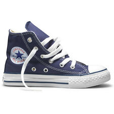 Converse Chuck Taylor All Stars Hi Kids Shoe Blue All Sizes