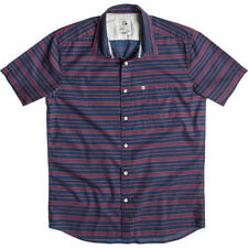 Quiksilver Nendo Mens Shirt Blue Red All Sizes