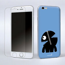 """Blue Vinyl Decal Skin Sticker Cover W/Screen Film For Apple iPhone 6 Plus 5.5"""""""