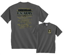 U.S. Army Strong Shirt Sound Off 1234