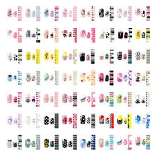 DIY NAIL WRAPS STICKERS - Full Self Adhesive Polish Foils Decoration Art Decals
