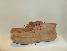 UGG Authentic Lyle CozyWarm Slipper Boots Suede/Shearling Sheepskin US11 Ret$150