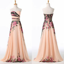 VINTAGE 50S Long Masquerade Ball Gown Evening Prom Party Cocktail Formal Dresses