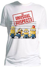 UNUSUAL SUSPECTS OFFICIAL DESPICABLE ME MINION PRINTED T-SHIRT