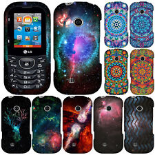 For LG Cosmos 3 VN251S VN251 Deer To Dream Galaxy Cosmo Snap On HARD Case Cover