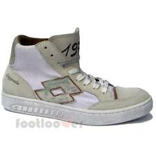 Men's Lotto Leggenda Dino IV CVS Q6350 Shoes Sneakers Basket Vintage White Limit