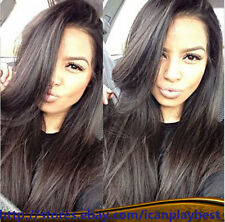 """14""""-22"""" New fashion style Lace Wigs _ Malaysian Silky HUMAN HAIR Indian Remy"""