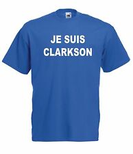 CLARKSON JE SUIS funny motor car top tee birthday gift ideas mens womens T SHIRT